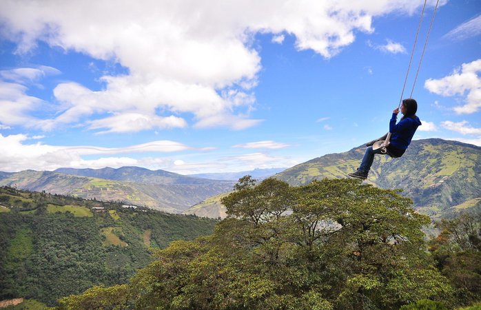 Destinos turísticos increíbles en Sudamérica - Baños, Ecuador